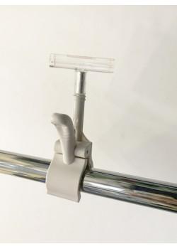 Держатель рамки с зажимом-прищепкой на трубу