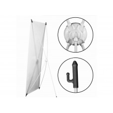 X-banner Well 80x180cm White
